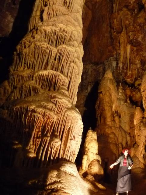 Visiter les grottes autour de Millau