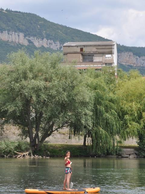 Paddle à Millau ©Style Millau Tourisme