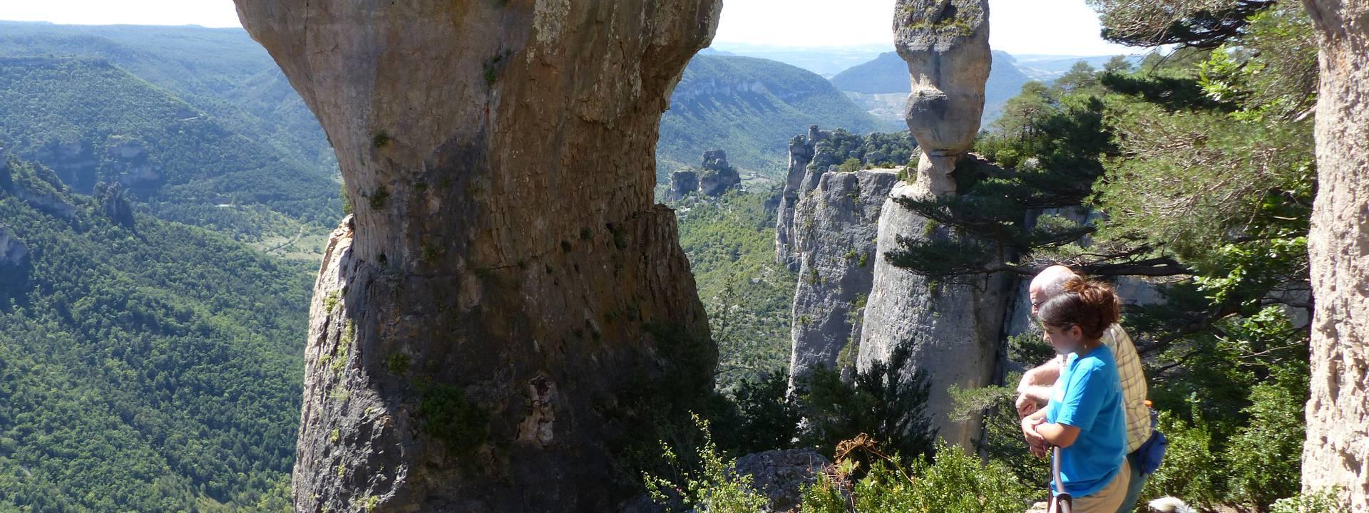 Randonnée au cœur des Gorges du Tarn et de la Jonte