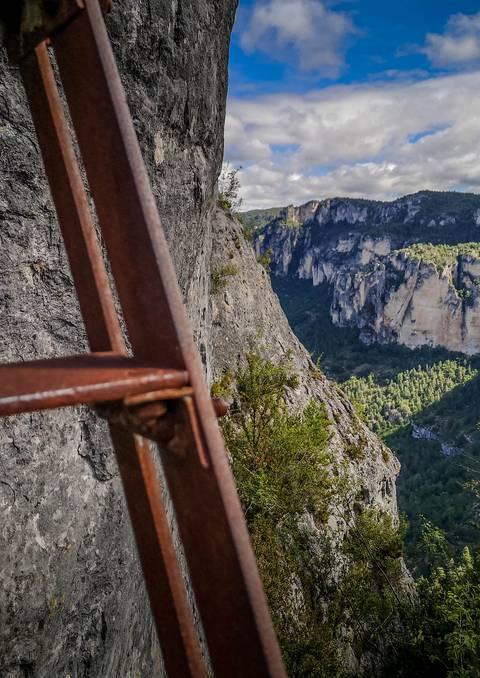 Top 3 des randonnées avec des échelles dans les Gorges du Tarn