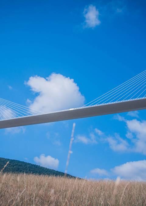 Un ouvrage d'art unique : le Viaduc de Millau