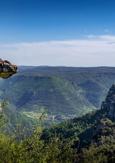 Rando Villages troglodytiques des Gorges du Tarn
