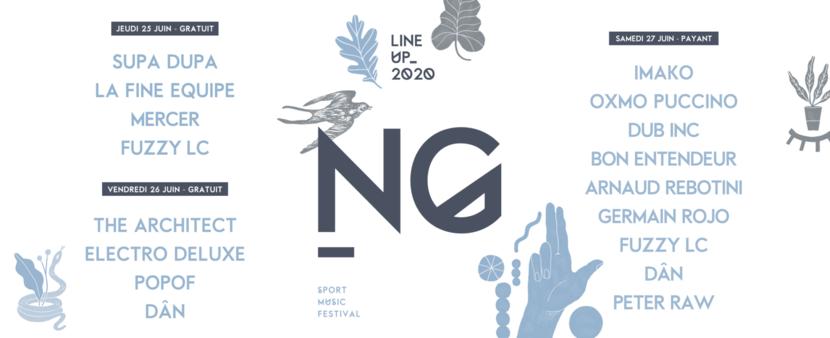 Programme des concerts Natural Games 2020
