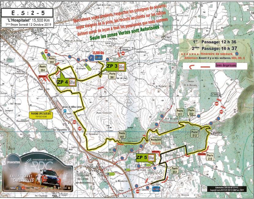 Rallye des Cardabelles_Parcours spéciale 2_L'Hospitalet-du-Larzac