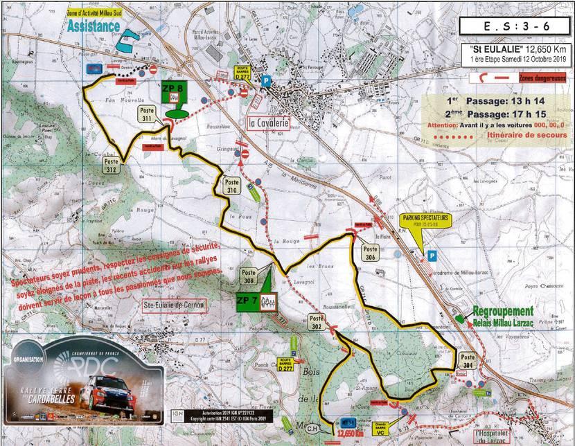 Rallye des Cardabelles_Parcours spéciale 2_Ste Eulalie de Cernon
