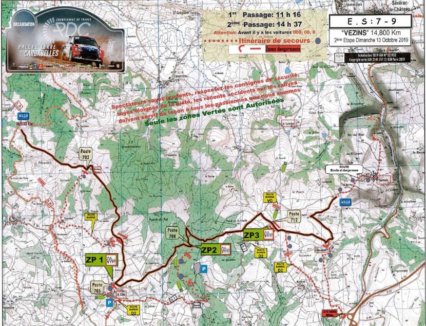 Rallye des Cardabelles_Parcours Spéciale 3 - Vezins