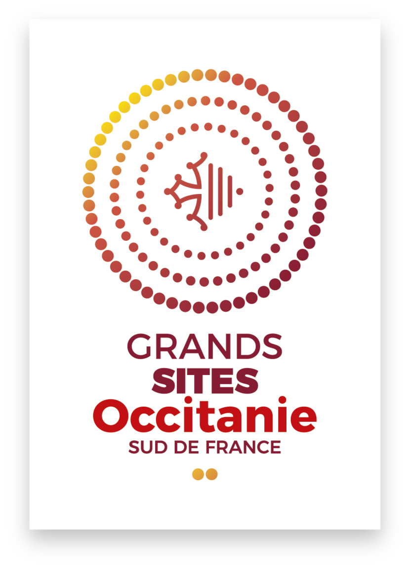 Logo - Grands sites Occitanie