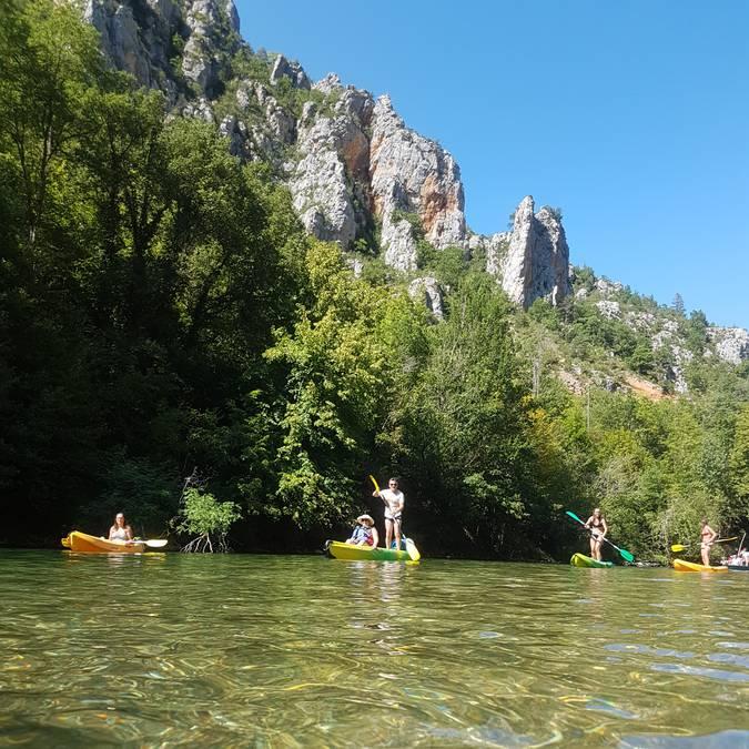 Les paysages grandioses des Gorges du Tarn