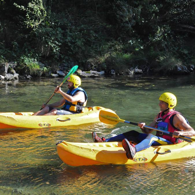 à 2 ou en solo, choisissez votre canoë ou kayak