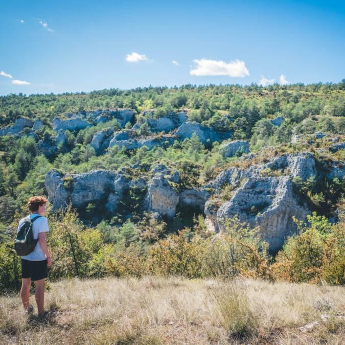 Randonnée dans les Gorges du Tarn