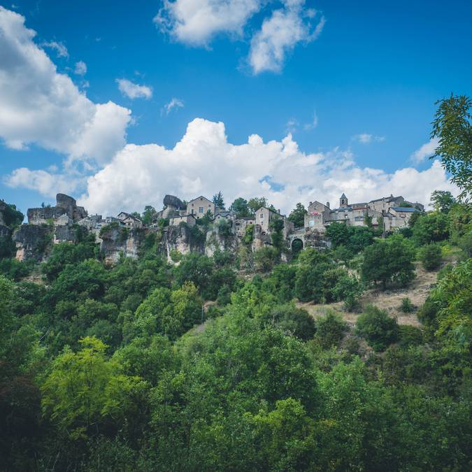 Le village perché de Cantobre