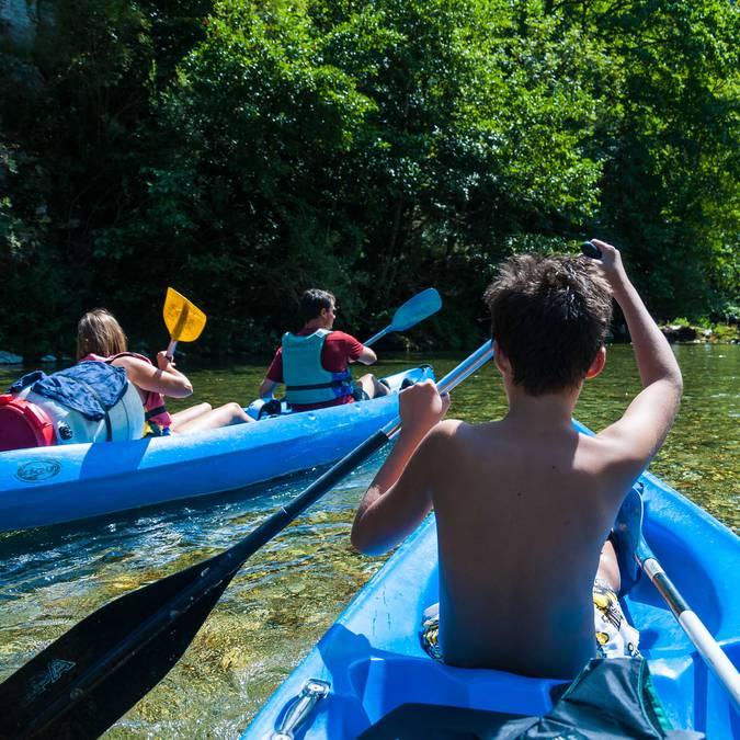 Descente en canoë des Gorges du Tarn