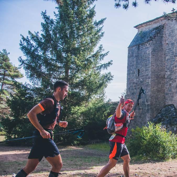 Itinérance trail à Millau Grands Causses