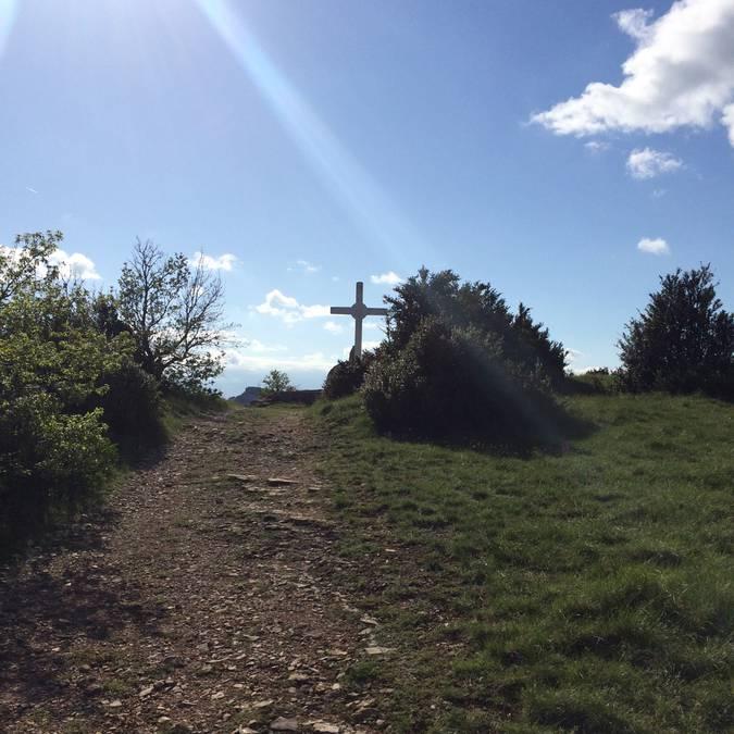 trail sur le Larzac