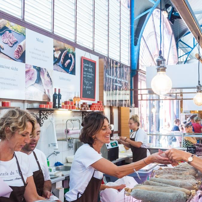 Les Halles de Millau, marché couvert du vendredi