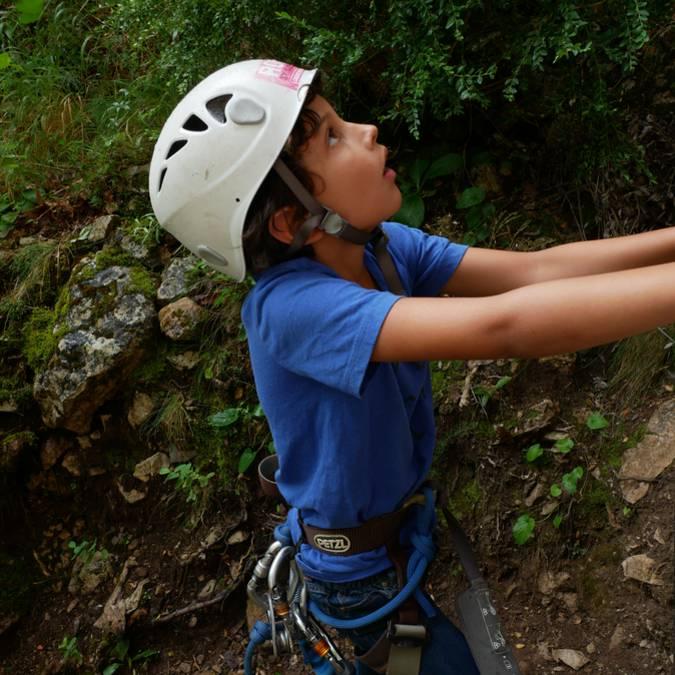 Escalade facile dans les Gorges du Tarn