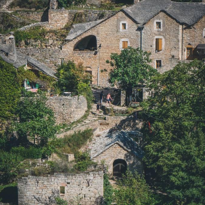 Hauterives, dans les Gorges du Tarn