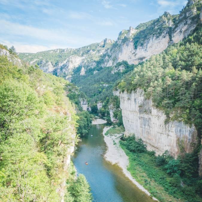 Route mythique des Gorges du Tarn en camping-car