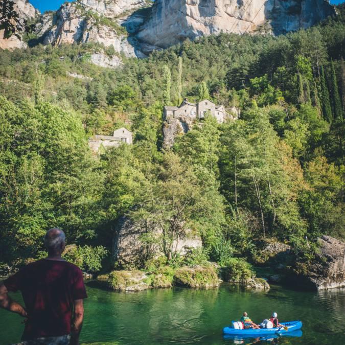 Descente des gorges du Tarn en canoë