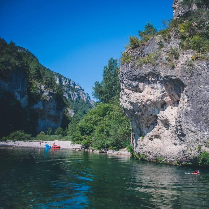 Se baigner dans le Tarn