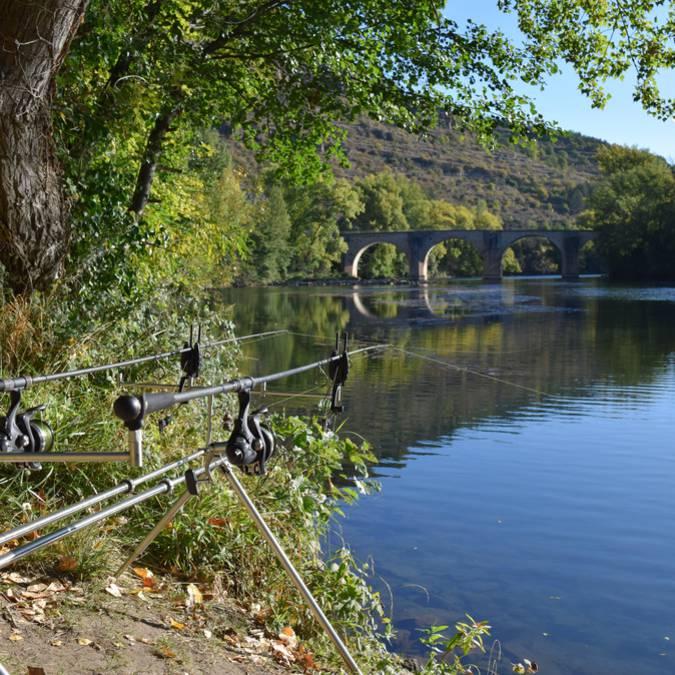 Pêcher dans la vallée du Tarn