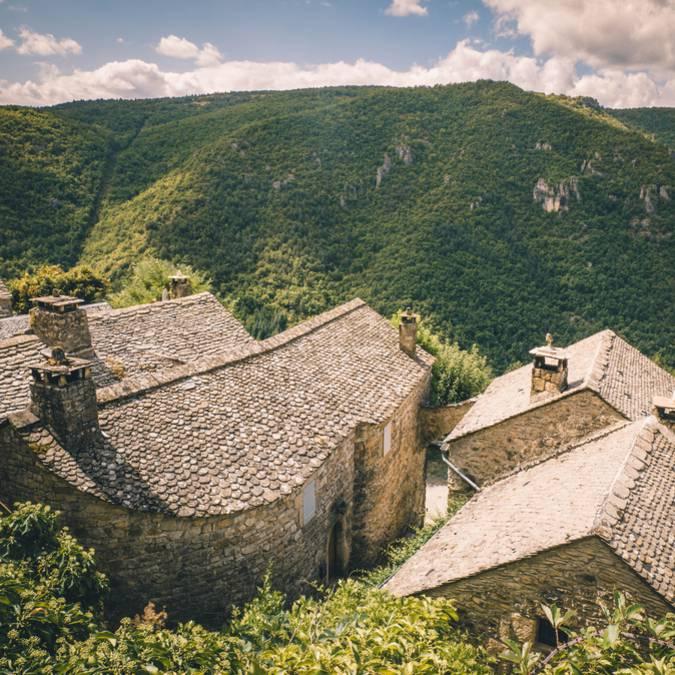 Sur les hauteurs de Saint-Véran, gorges de la Dourbie