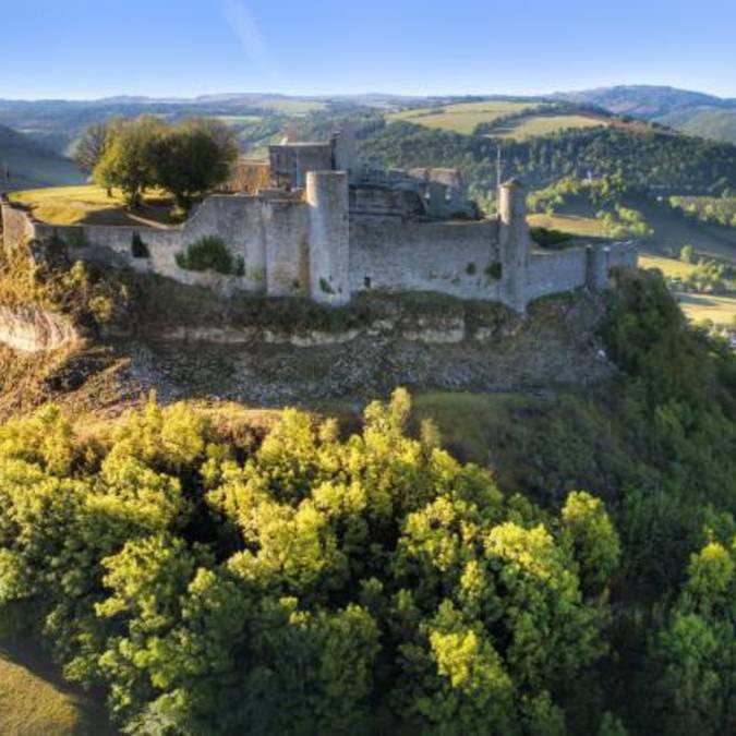 Le site historique de Séverac-Le-Château