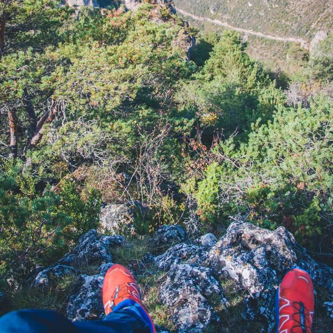 faire du trail à Millau