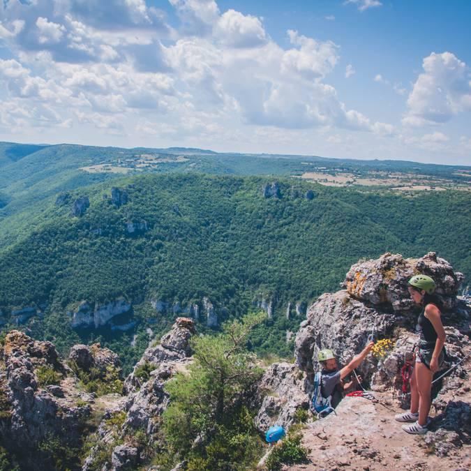 Panorama sur les gorges de la Dourbie