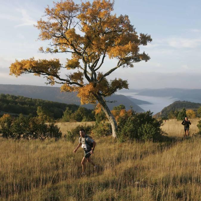 Sortie trail à Millau Grands Causses