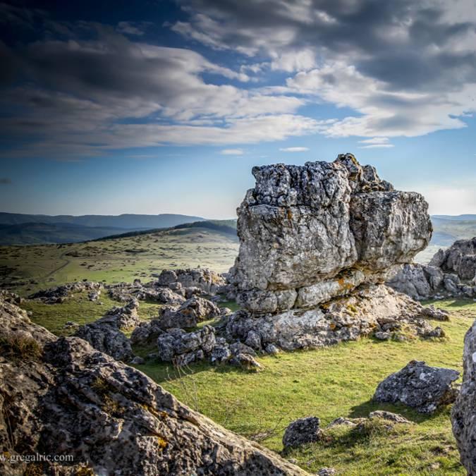 Ruiniformes sur le Causse du Larzac