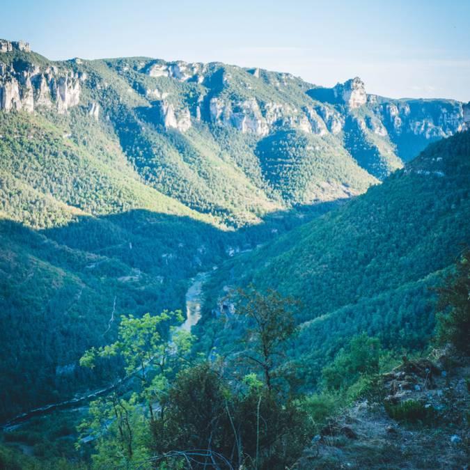 Randonnée dans les Gorges du Tarn et de la Jonte